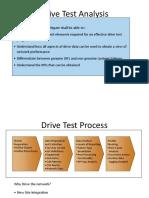 3G Drive Test Analysis
