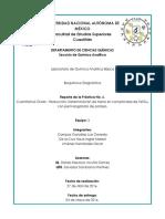 Determinacion de Hierro en Comprimidos de FeSO4