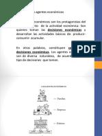 3.- Los Agentes Económicos 1.4