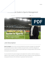 What is a Sports Manager _ the Ultimate Guide