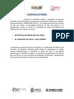 Convocatoria 2019 FOSL