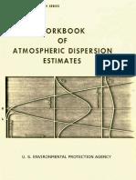 Dispersión atmosférica de contaminación