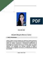 Hoja de Vida Elizabeth Margarita Meneses Cadena