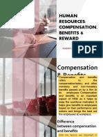 Hrm Benefits, Compensation and Rewards
