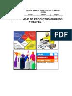 PLAN MANEJO DE PRODUCTOS QUIMICOS Y RESPEL .docx