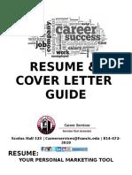 Booklet resume