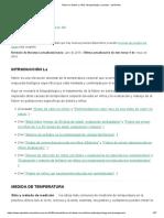 Fiebre en Bebés y Niños_ Fisiopatología y Manejo - UpToDate