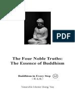 A3 the Four Noble Truths 2019