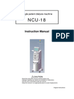 Nipro Ncu-18 User Manual