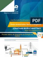 Presentacion Analisis Ciclo de Vida - Sector Energetico Proyecto Carboelectrico
