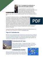 Crecimiento de Población en Interacción Del Medio Ambiente