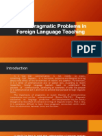 Socio-Pragmatic Problems in Foreign Language Teaching.pptx