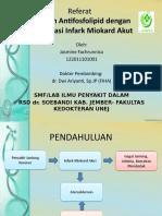 Referat-sindrom antifosfolipid