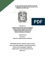 DISEÑO DE LA FASE DE PLANIFICACIÓN DEL SISTEMA DE GESTIÓN AMBIENTAL PARA LA EMPRESA COLOMBIAN  ANTEPROYECTO.docx