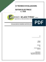 Ot 2190 Motor 1.1kw Alicorp