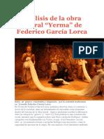 análisis de Yerma