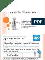 NORMAS ISO 9000-2015