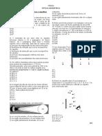 Exercícios de Óptica Geométrica