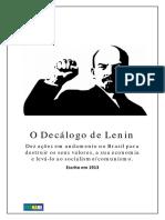 O decálogo de Lenin