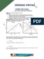 Tarea III Ejercicios Varios Demanda Oferta y Equilibrio Corregida Por Carolina 15 de Agosto de 2014c