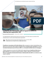 Crisis en Venezuela_ Guerra Contra Libertad de Expresión_ Alerta SIP _ RCN Radio
