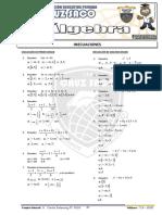 Algebra - 4to Año - III Bimestre