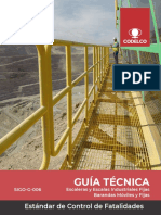 SIGO-G-006 - Escaleras y Escalas Industriales Fijas - Barandas Móviles y Fijas