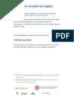 Presente Simple en Inglés Usos Reglas y Estructura - Guia Completa