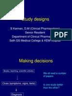 Study Designs - NIIRH