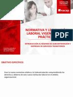Ppt4 Introducción Al Régimen de Subcontratación