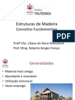 1 - Estruturas de Madeira - Conceitos Fundamentais