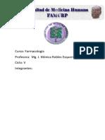 Vias de Administracion e Interaccion de Farmacos