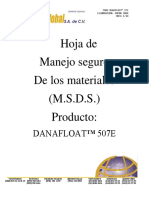 MSDS DANAFLOATT 271