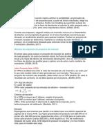 Métodos de evaluación de proyectos de inversión
