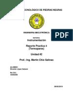 Reporte Practica 4 INTRUMENTACIO