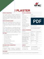 GypsumPlasterDataSheet1.2