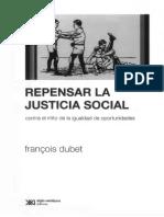 Dubet, F. (2011) Repensar La Justicia Social