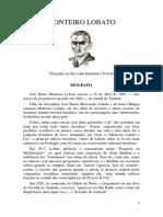 Monteiro Lobato - Bio-Bibliografia.