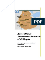 Ethiopian Agricultural Investment Potential