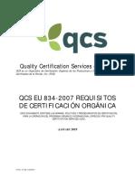 1C301 EU 834-2007 Organic Certification Req Sp 190128F
