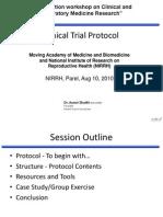 Protocol Aug10 2010 Dr.aamirShaikh