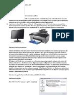 El Monitor y La Impresora Son Dispositivo De