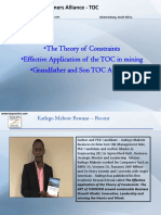 15. TOC - Effective Application of TOC in Mining