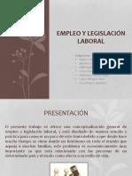 EMPLEO Y LEGISLACIÓN LABORAL