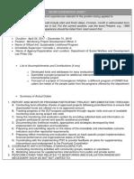 Cs Form No. 212 Attachment - Work Experience Sheet 1