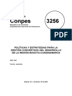 Conpes 3256 de 2003 Region Bogota-Cundinamarca.pdf