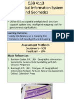 Lecture 1 Fundamentals of GIS