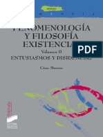 Fenomenología y Filosofía Existencial. Vol. 2 Entusiasmos y Disidencias (Thémata) - César Moreno