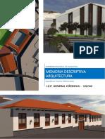 04. Memoria Descriptiva - Arquitectura - Propuesta