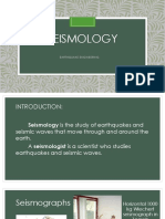 Seismology and Earthquake